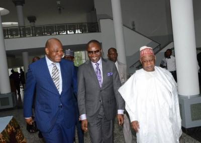 Dr Okey, Dr Kachikwu and Gen Gusau