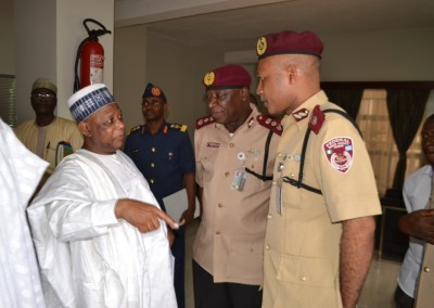 Gen Gusau and Road Safety Corps Marshal