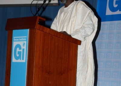 Vote of Thanks, Dr Haroun Adamu