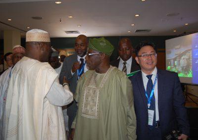 Alh. Atiku Abubakar, Pres. Obasanjo, Dr. Wu Chuanhua