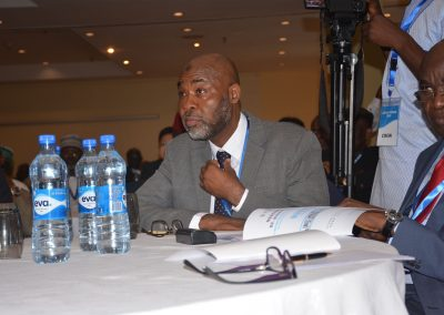 Amb. Ahmed Magaji, Mr. Emeka Izeze