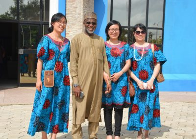 Maj. Abubakar Yusuf (rtd.) and Chinese Guests