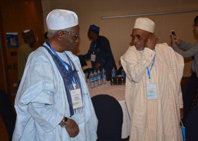 Prof. Ango Abdullahi and Alh. Bello Usman Tafidan