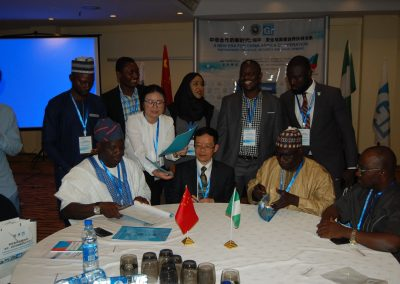 ZJNU Delegates and Nigerian Counterparts