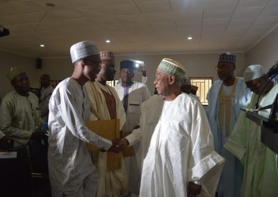 Gen. Gusau congratulates the winners