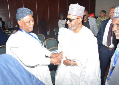 Lt. Gen. Aliyu G. Mohammed rtd. and former VP Namadi Sambo