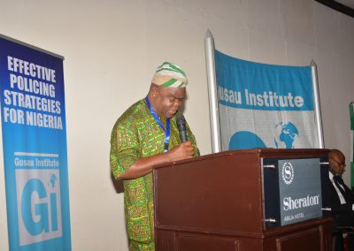 Prof. Kemi Rotimi, renowned historian on Nigeria policing