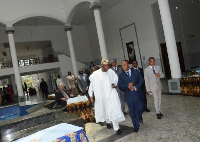 Amb Magaji and PM Trovoada