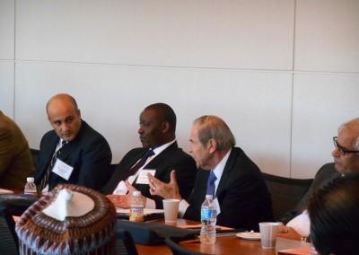 Ambassador Princeton Lyman addressing Conference Participants