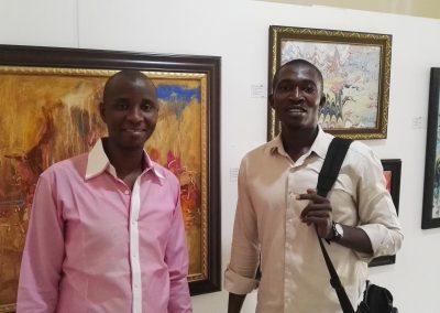 GI Staff Abubakar and Emmanuel
