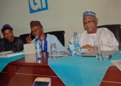 Gen Gusau, Kaduna Governor El-Rufai and Gen Alani Akinrinade