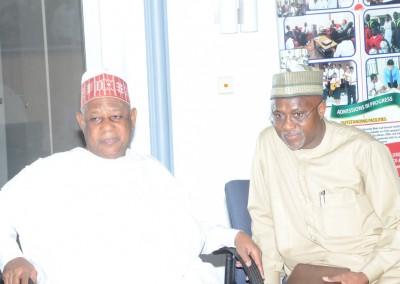 Gen Gusau and Maj Abubakar Yusuf