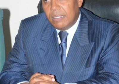 Keynote Speaker, PM Patrice Trovoada of São Tomé and Príncipe
