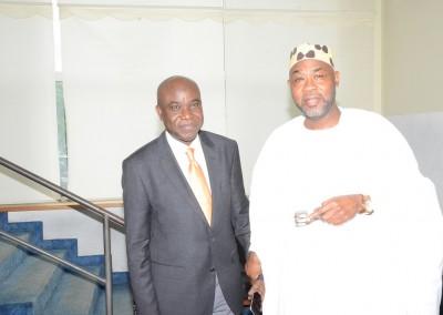 Mr Emeka Izeze and Amb Ahmed Magaji