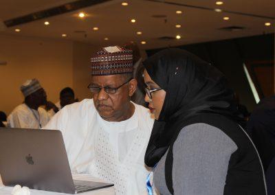 Alh. Mohammed Hayatuddeen, Dr. Hodan Osman Abdi