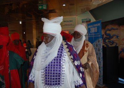 Emir of Keffi and Entourage