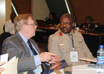 Mr. Gregory Copley and Col. Paul S. Tunye-Kulono