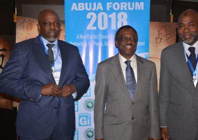 Mr. Tunde Fagbemi, Col. Kayode Are, Amb. Ahmed Magaji