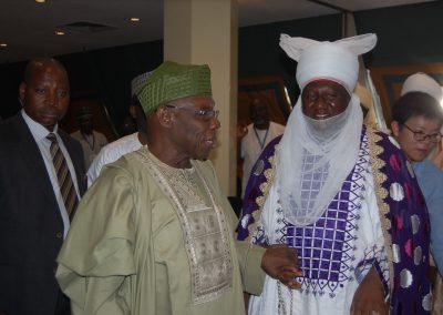 Pres. Obasanjo, Emir of Keffi
