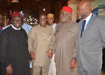 Senator Ben Obi, Amb. Ahmed Magaji and Friends