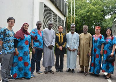 ZJNU Delegation and Arewa House Staff