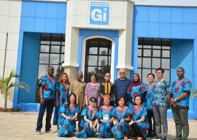 ZJNU Delegation at GI Premises