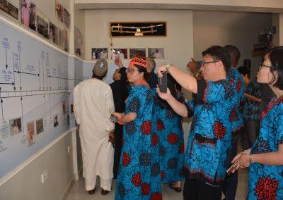ZJNU Delegation in GI Museum