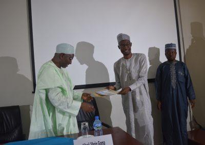 3rd Prize Winner Ado Bala Abubakar
