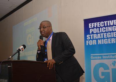 Min. of Police Representative Mr. Biodun Alibaloye