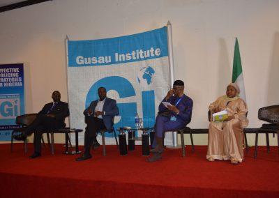 Panel 2 - Brig. Gen. ASH Sa'ad rtd., Dr. Chris Kwaja, CP Lawrence Alobi rtd., Mrs. Aisha Dankani