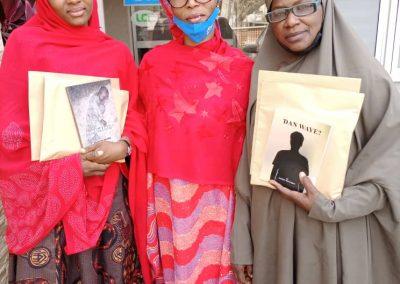 Prize winners with GI Administrator, Maryam A. Abubakar